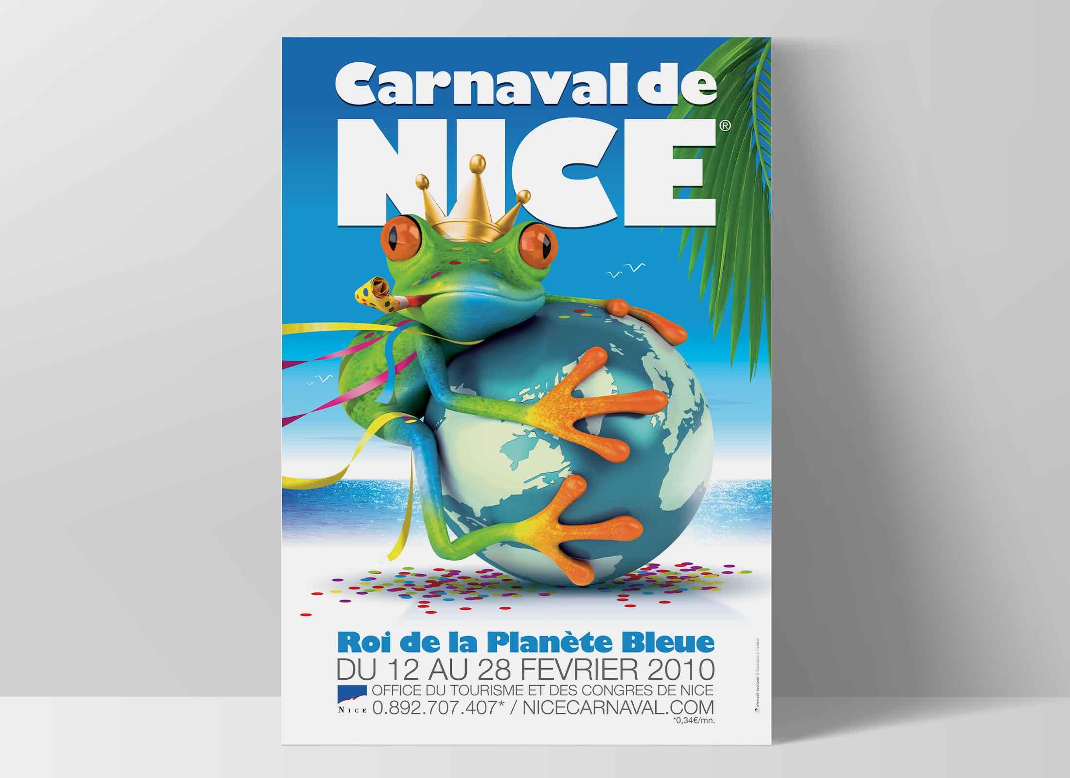 Carnaval de Nice, affiche