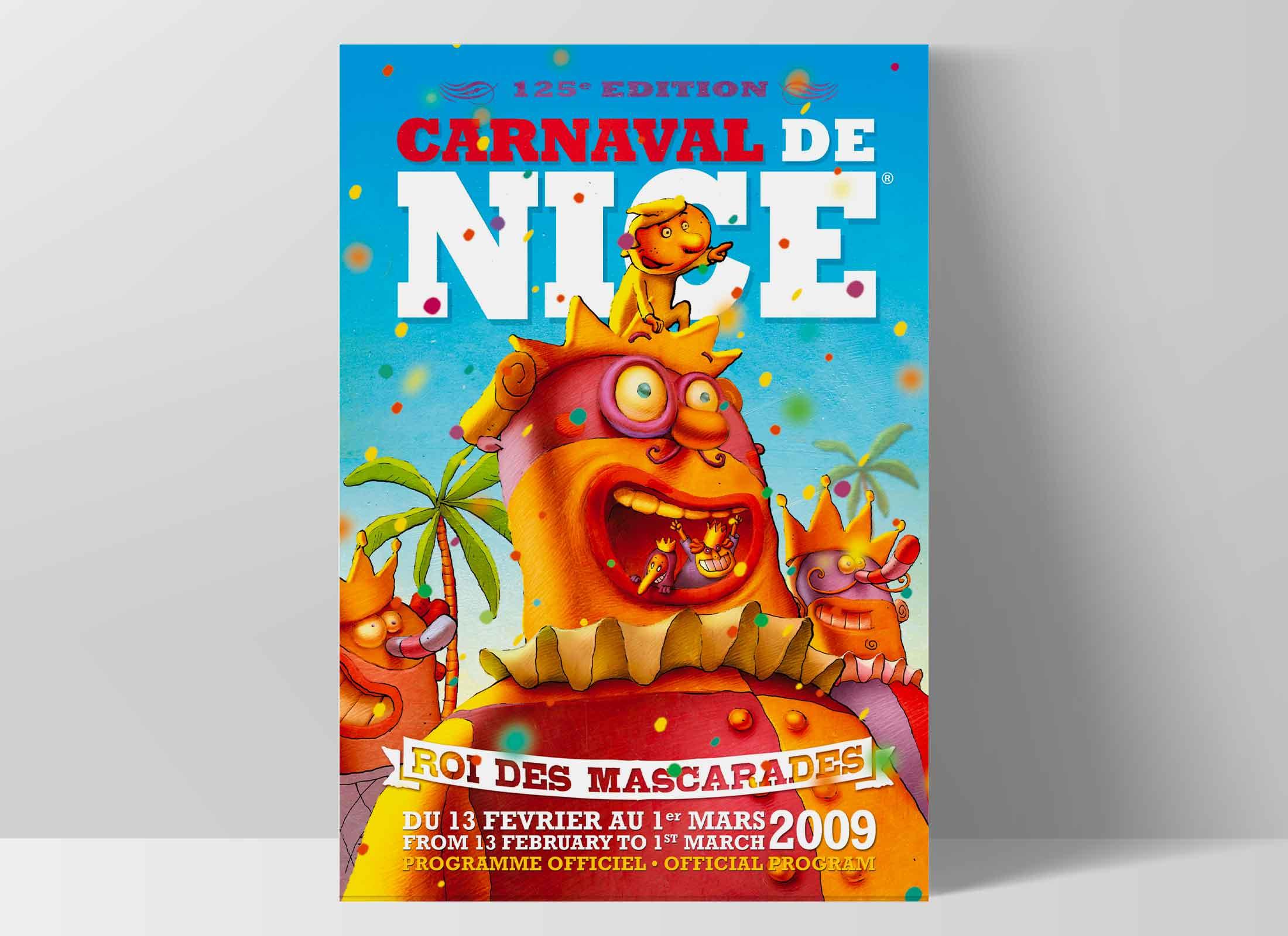 Carnaval de Nice, campagne d'affichage
