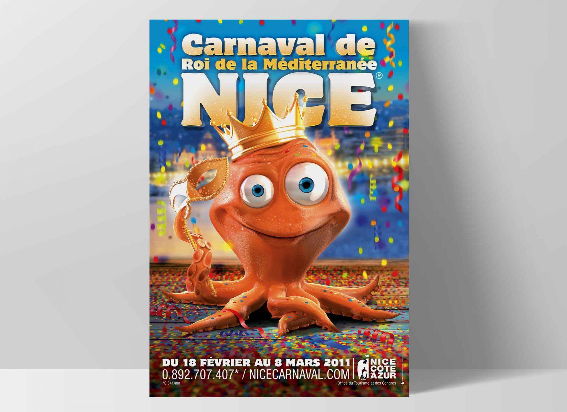 Carnaval de Nice, création de l'affiche