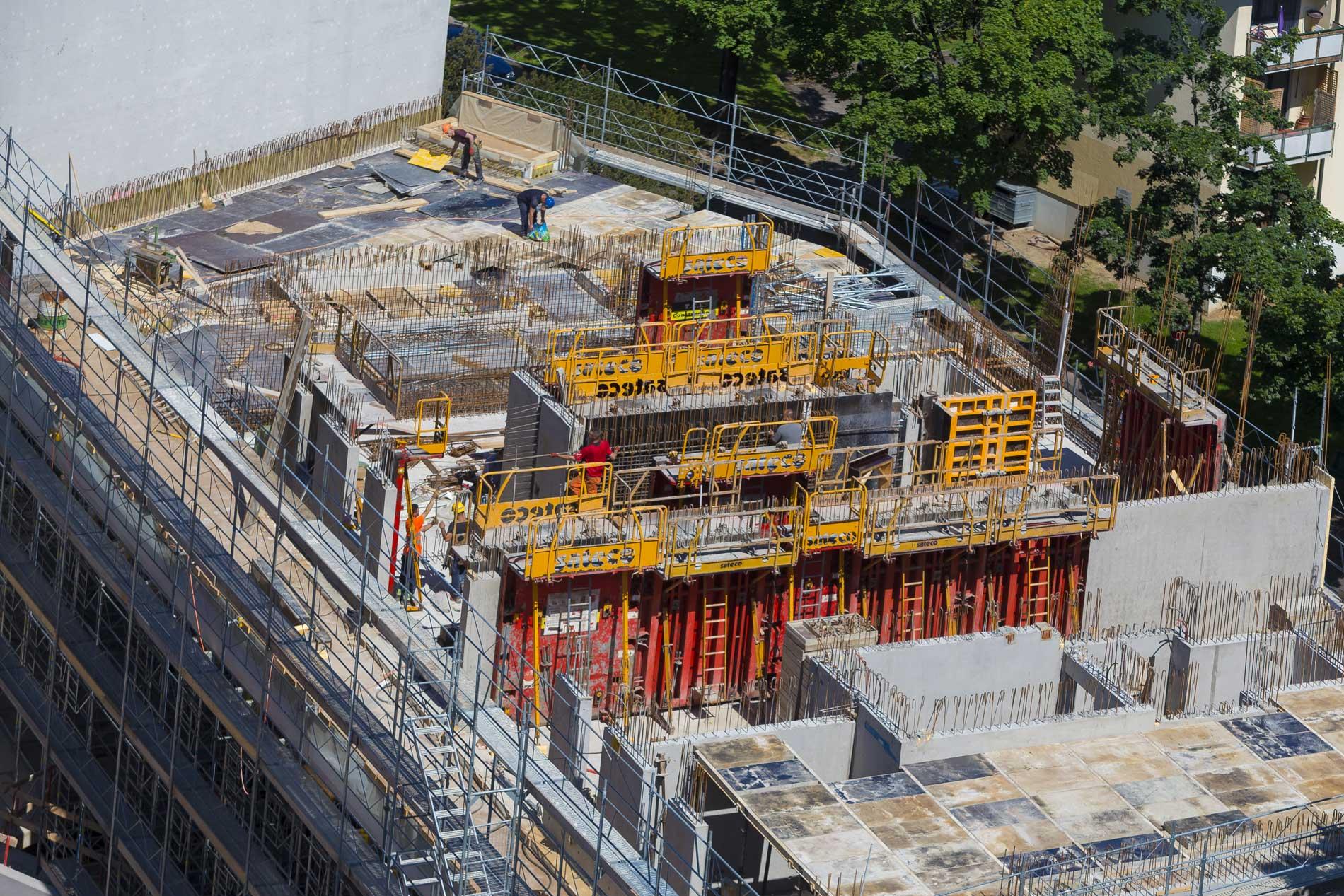 Photographie et vidéo de suivi de chantier à Genève