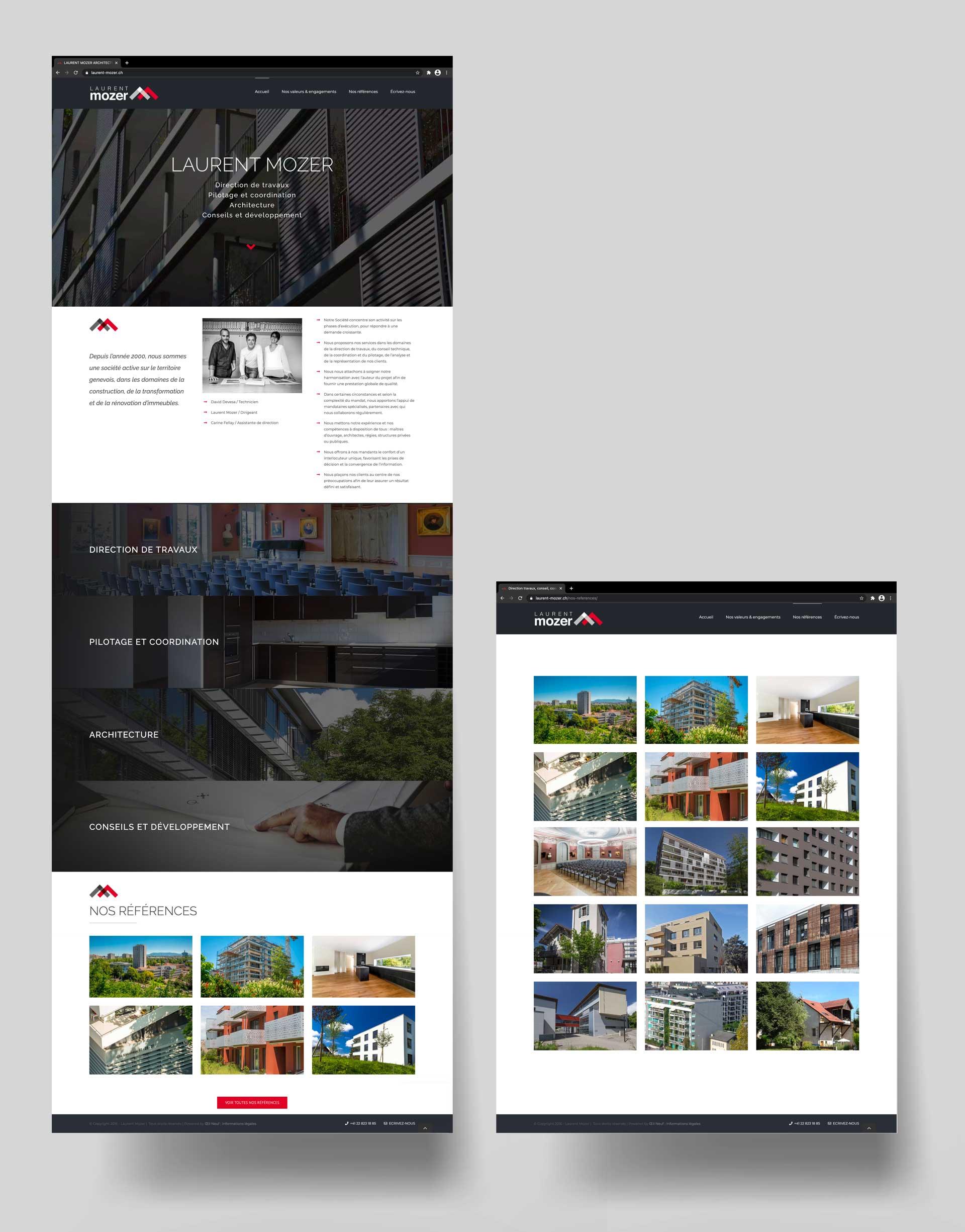Créatiuon de site wordpress Genève
