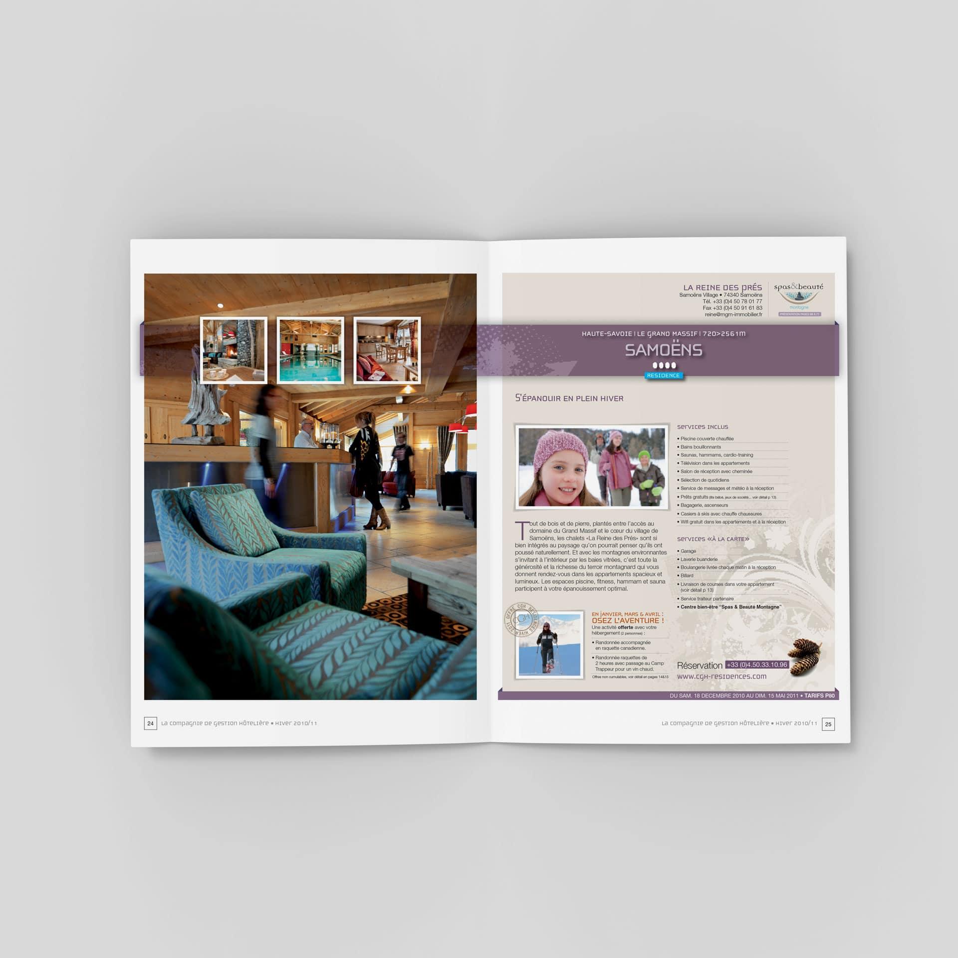 Catalogue CGH Résidences de tourisme