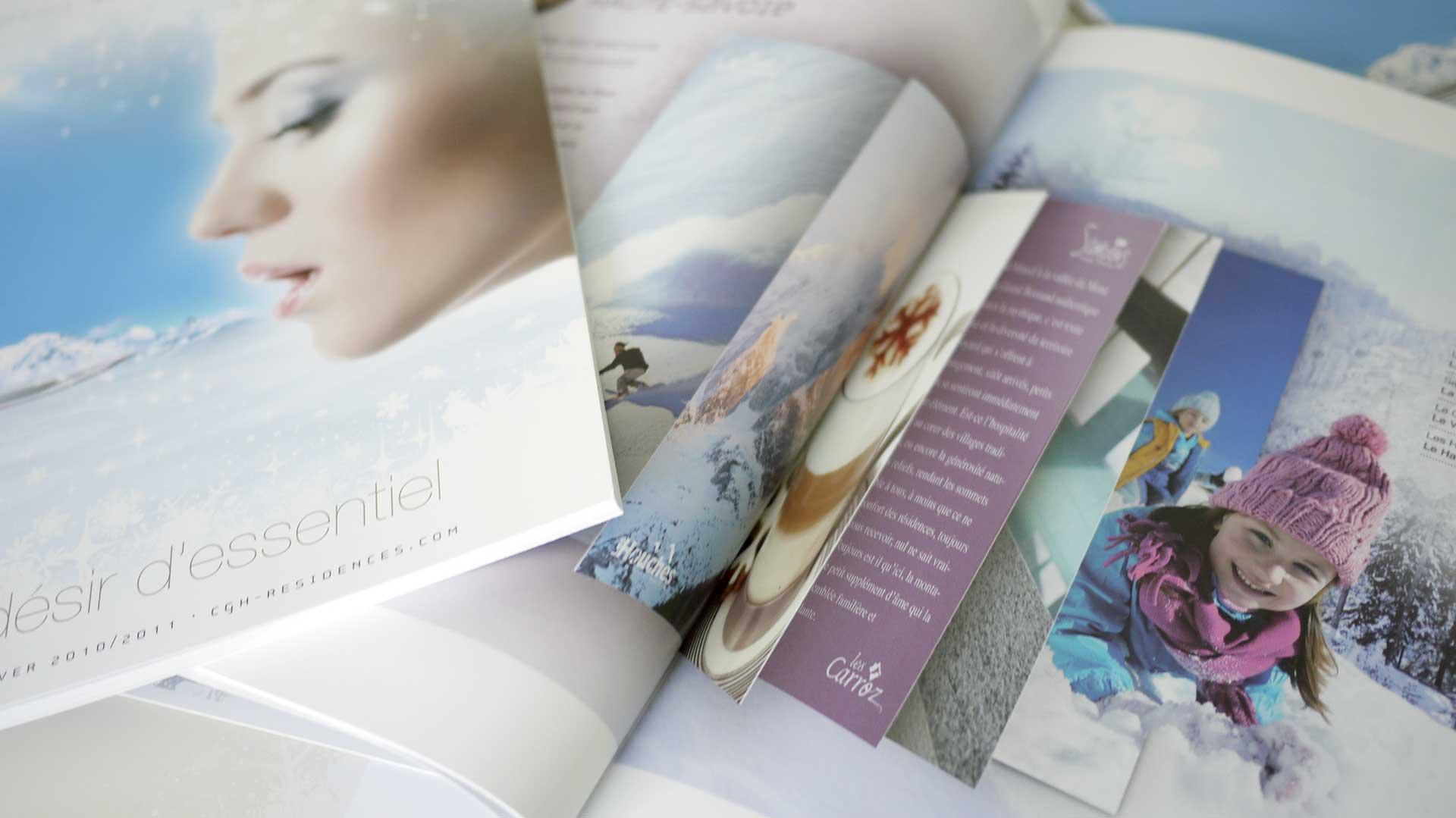 Graphiste pour catalogue ou brochure à Annecy