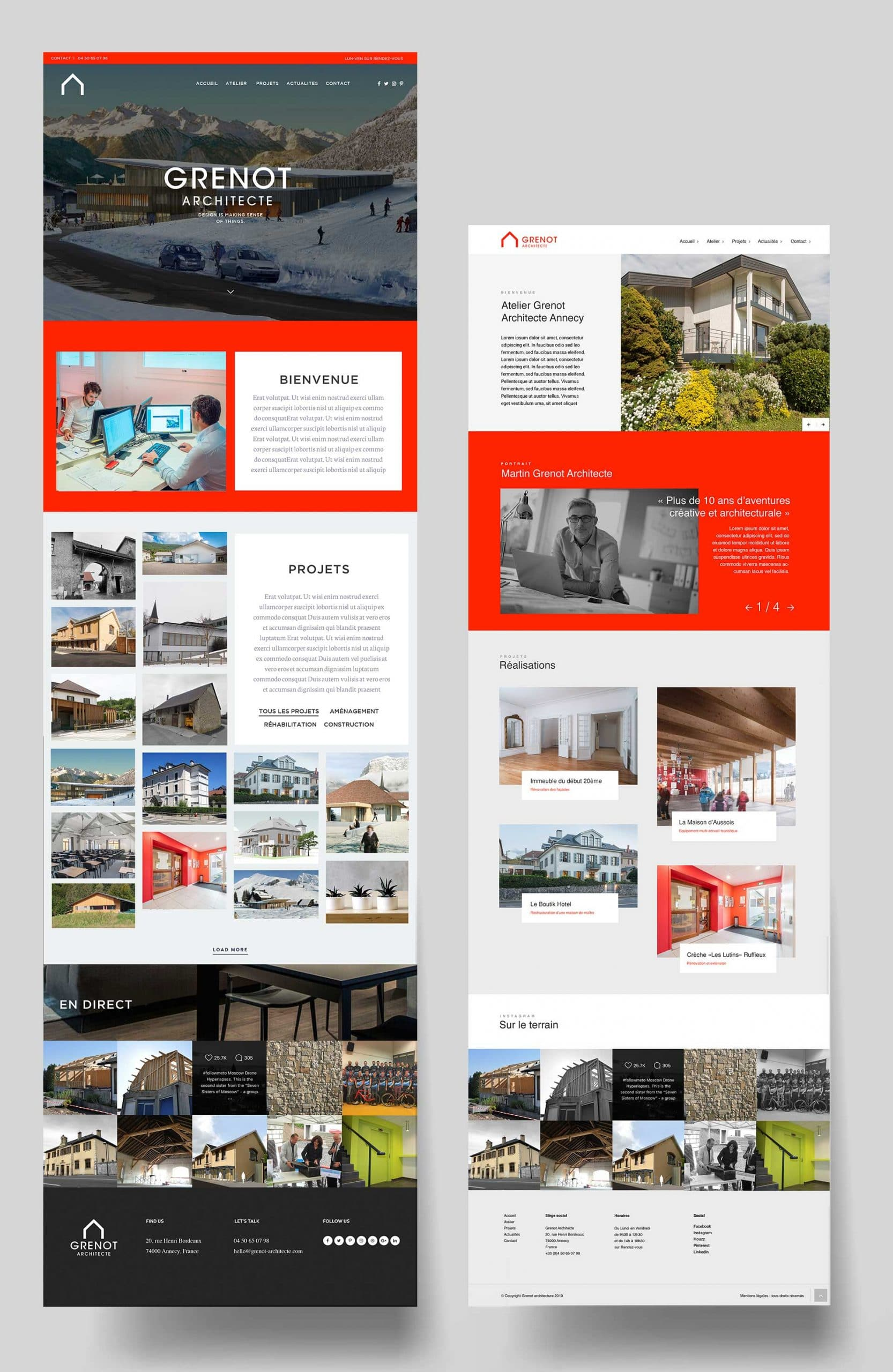 Site internet architecture annecy