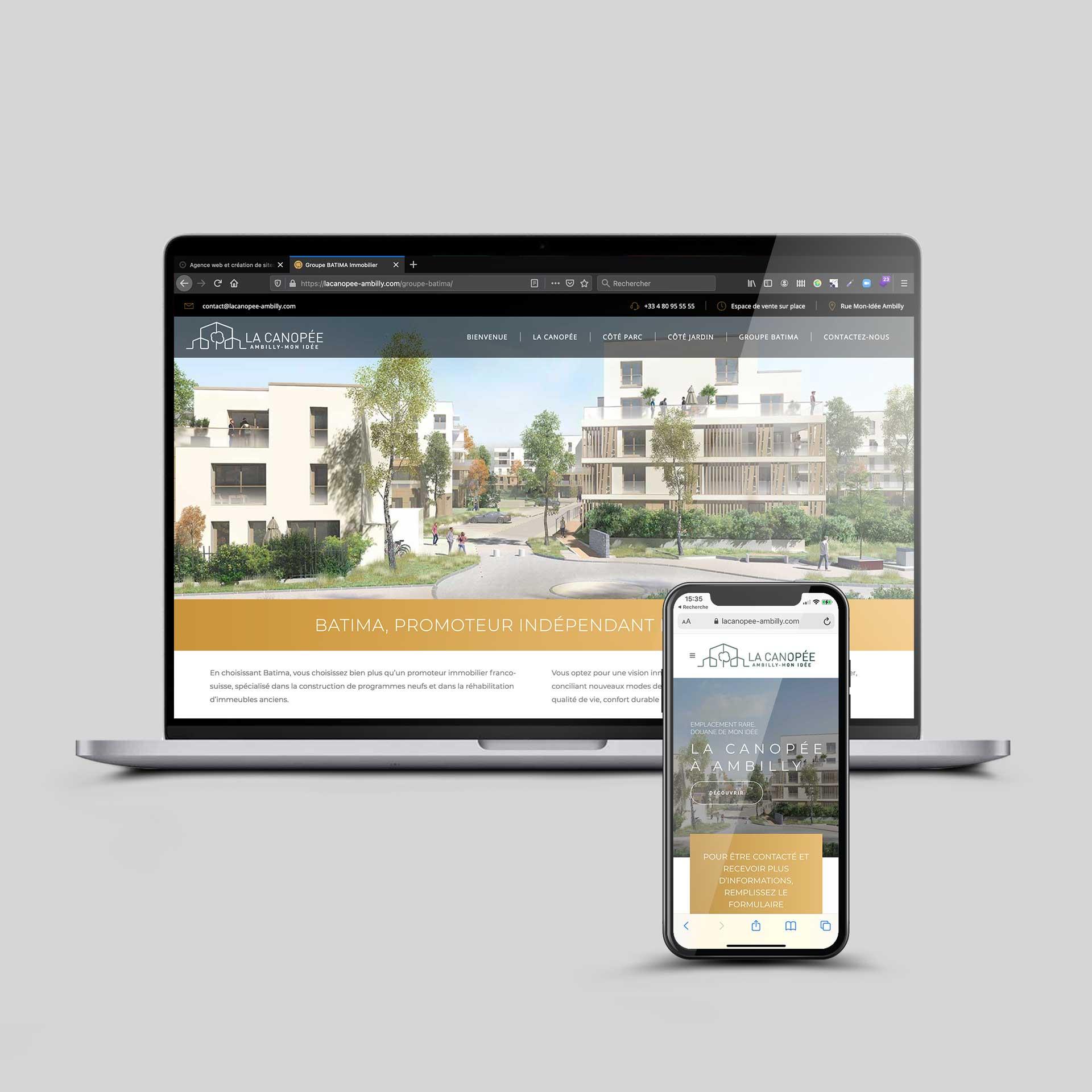 Création de site Web à Annecmasse Ambilly