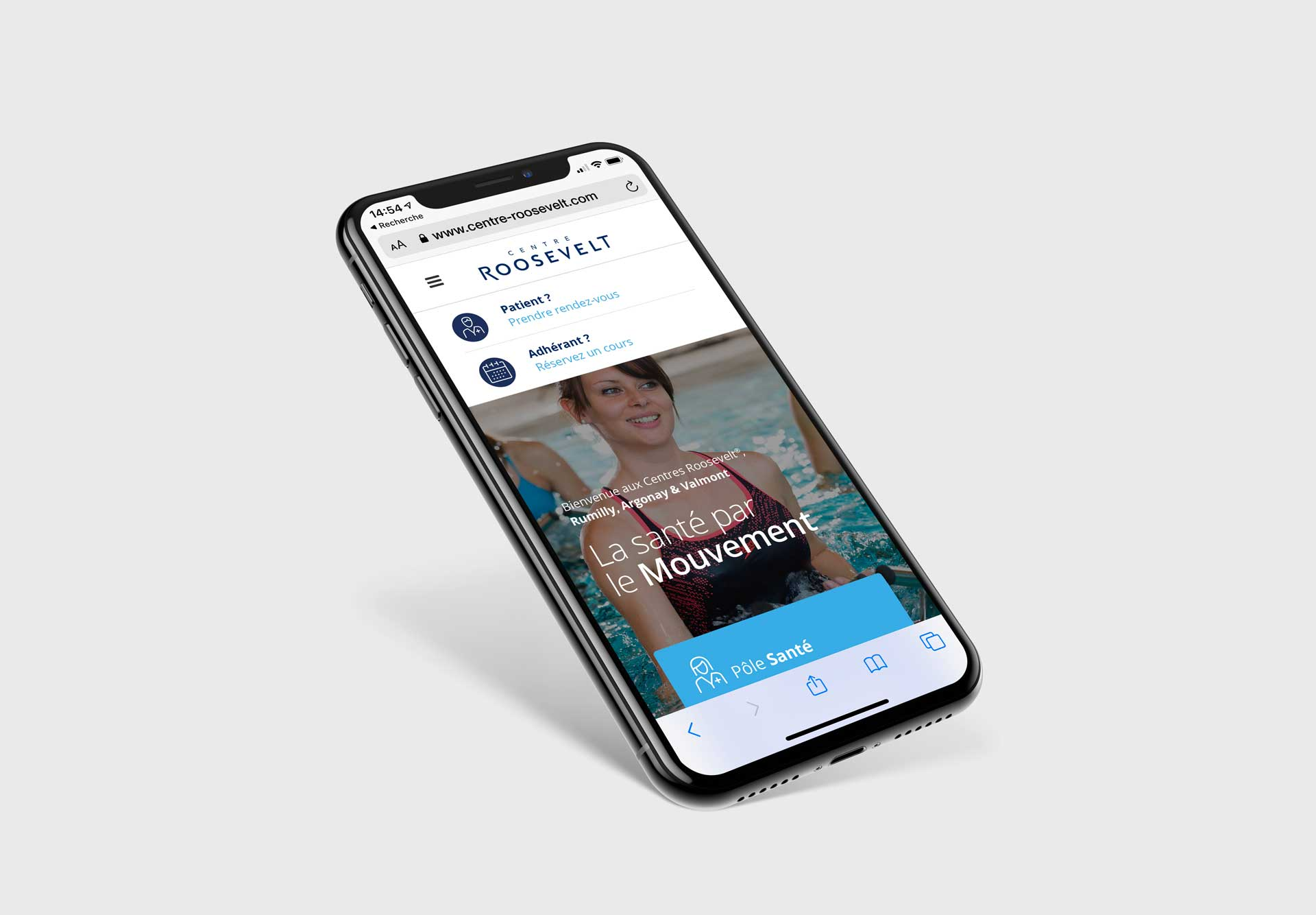 Site internet adapté aux téléphones