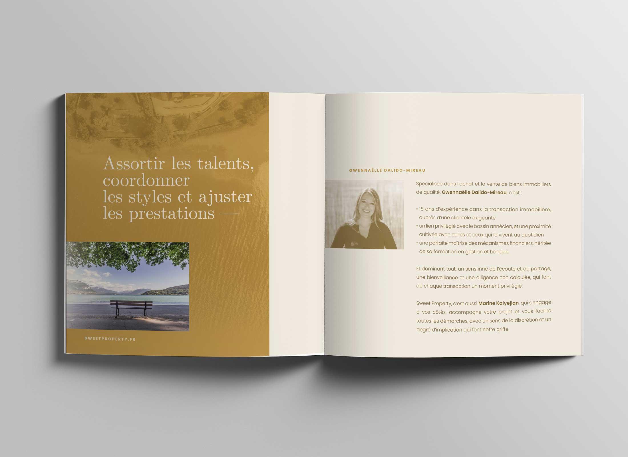 Brochure de présentation Immobilière
