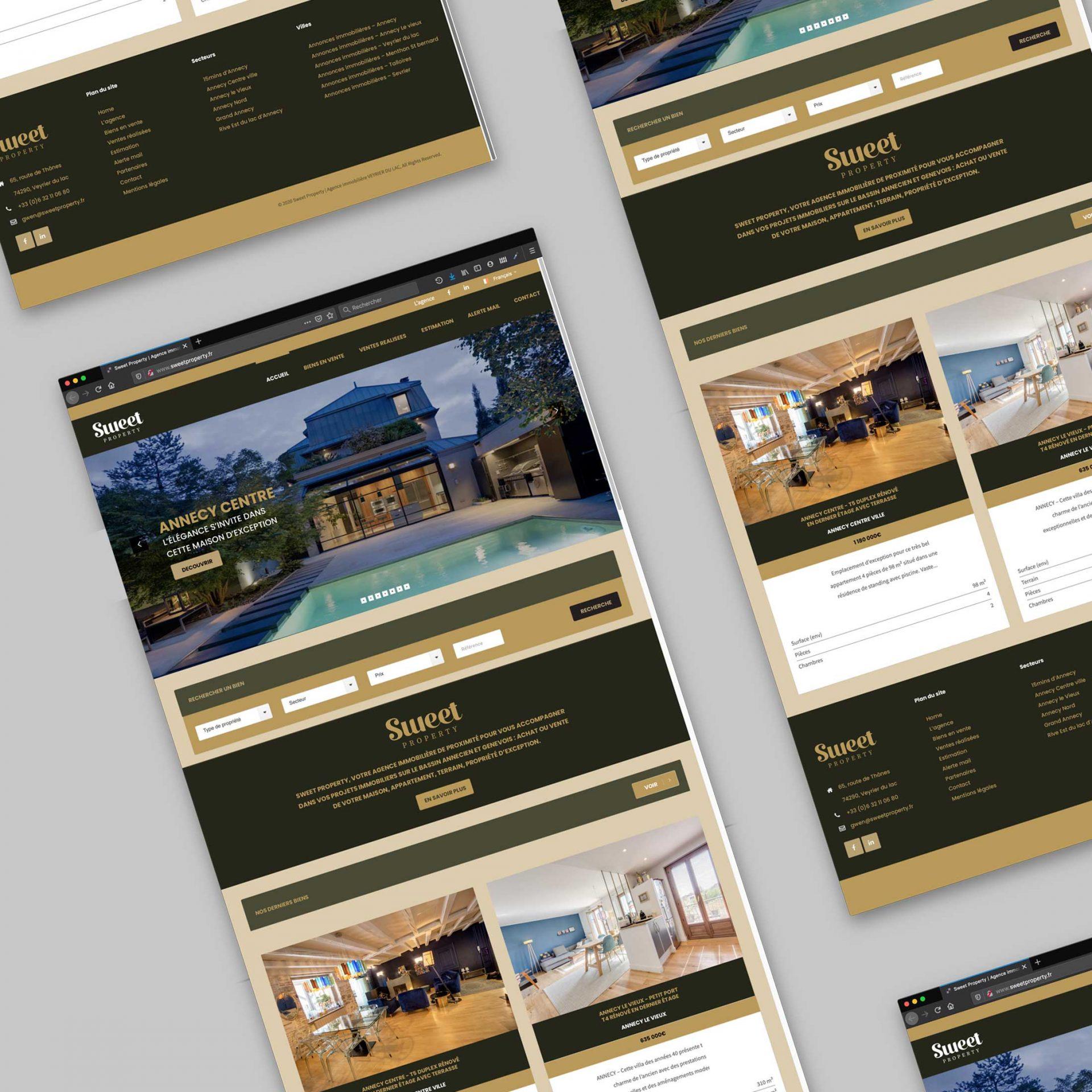 Webdesign de site internet