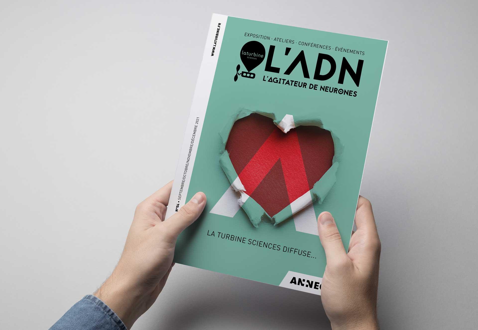 Création du magazine culturel ADN La Turbine Annecy