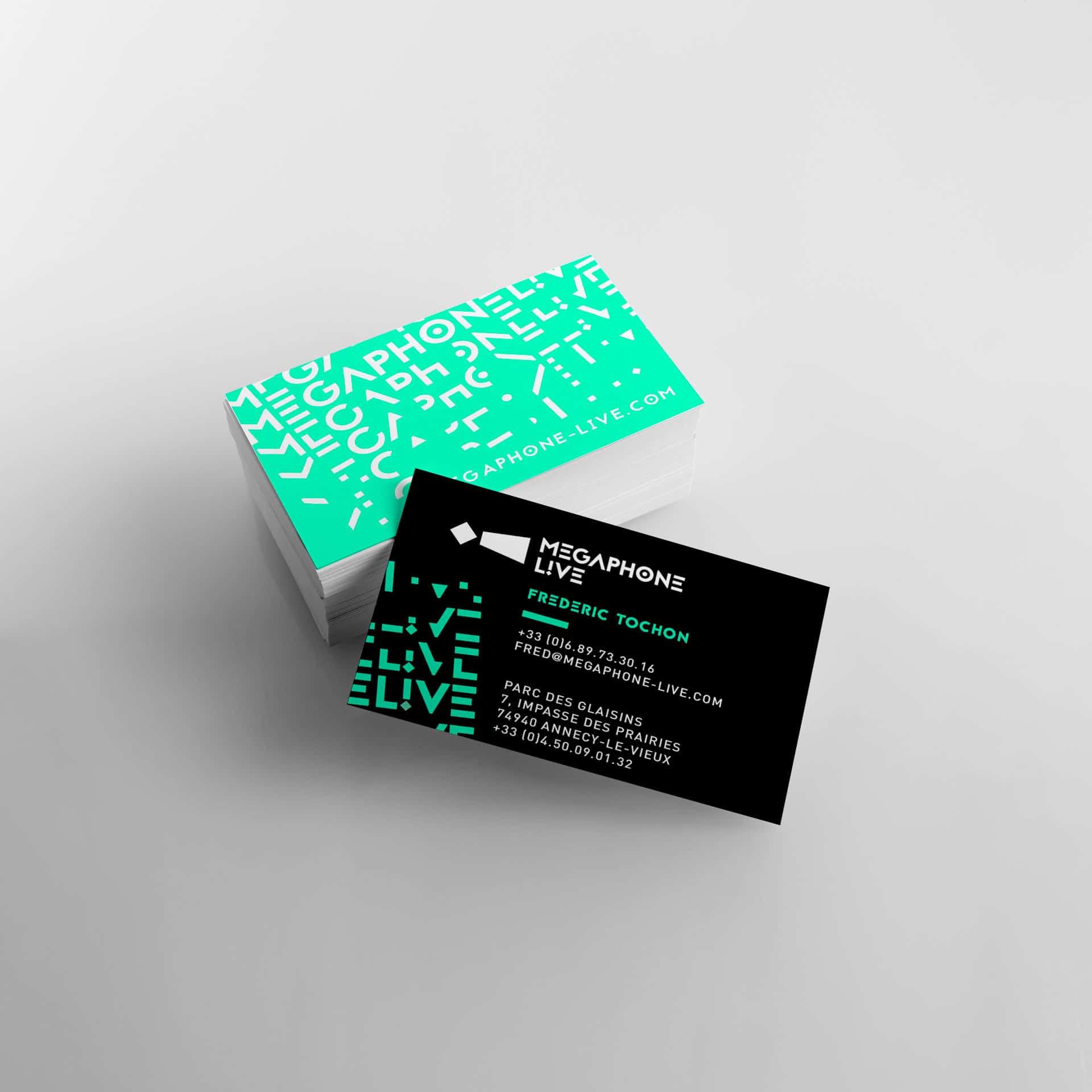 Megaphone Live, création logotype