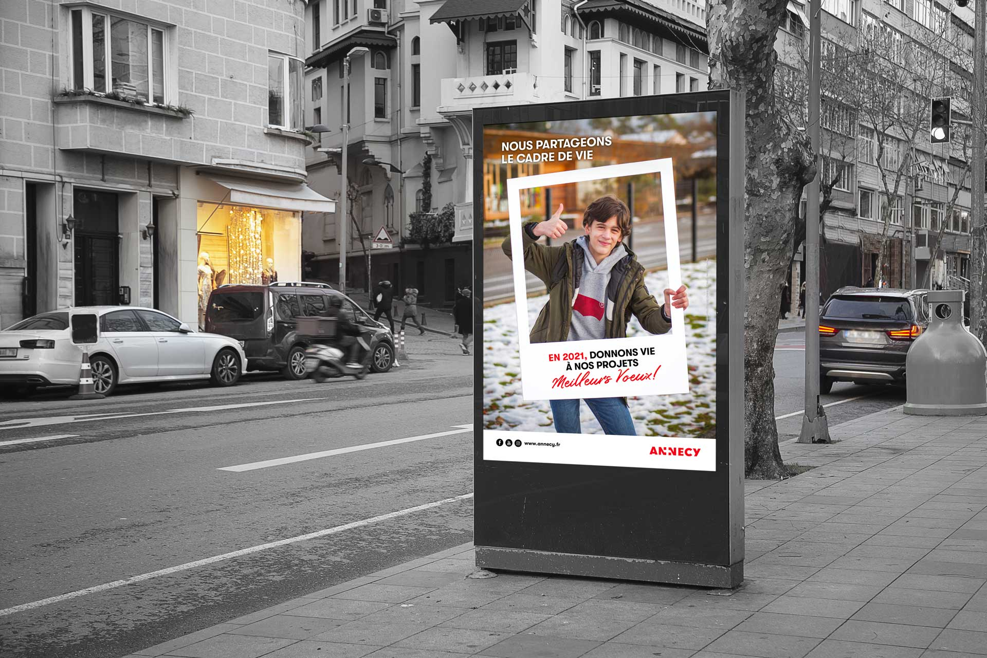 Campagne d'affichage Annecy