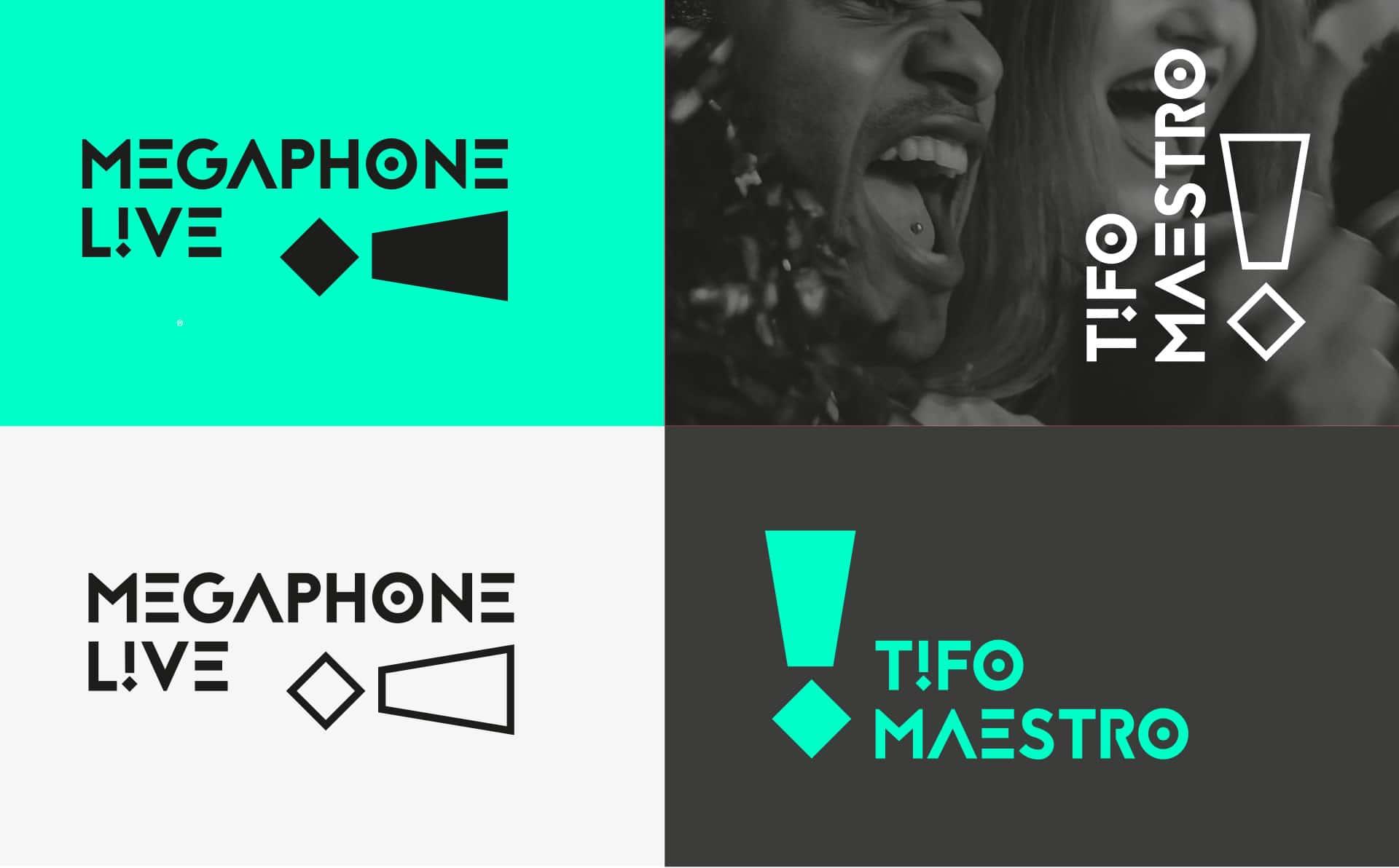 Megaphone Live, refonte du logo