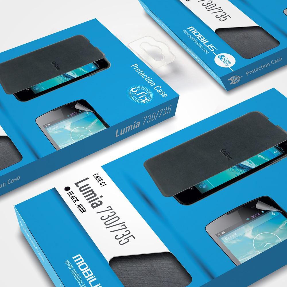 Mobilis, refonte de packaging produit