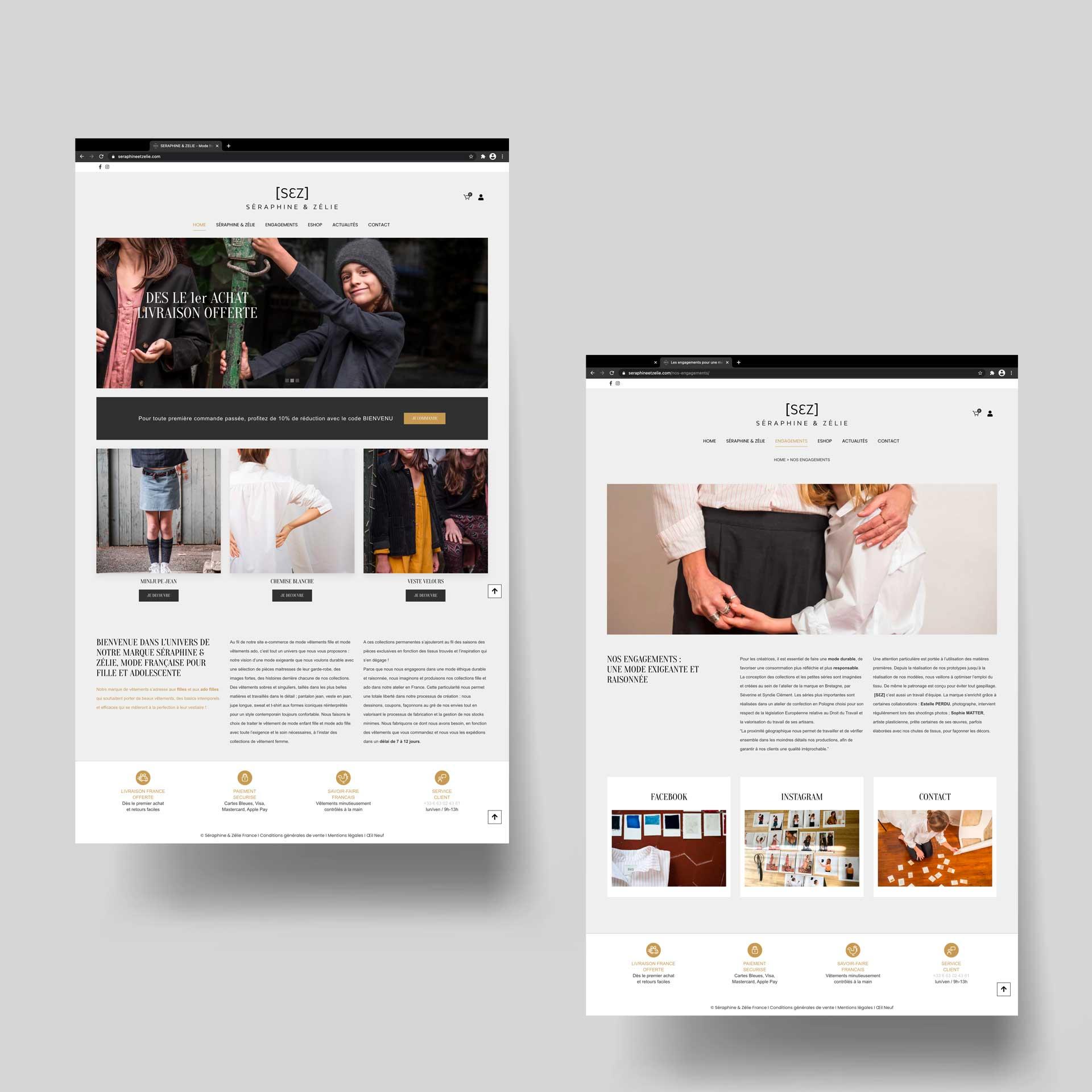 Création Site internet ecommerce à Annecy