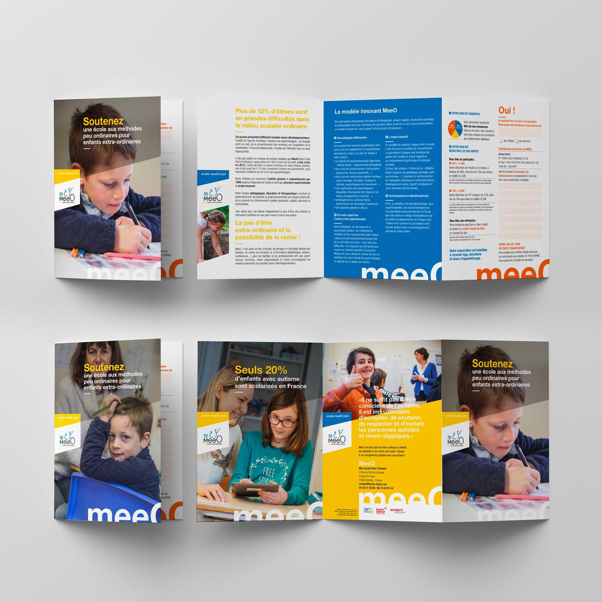 Documentation commerciale scolarité enfants