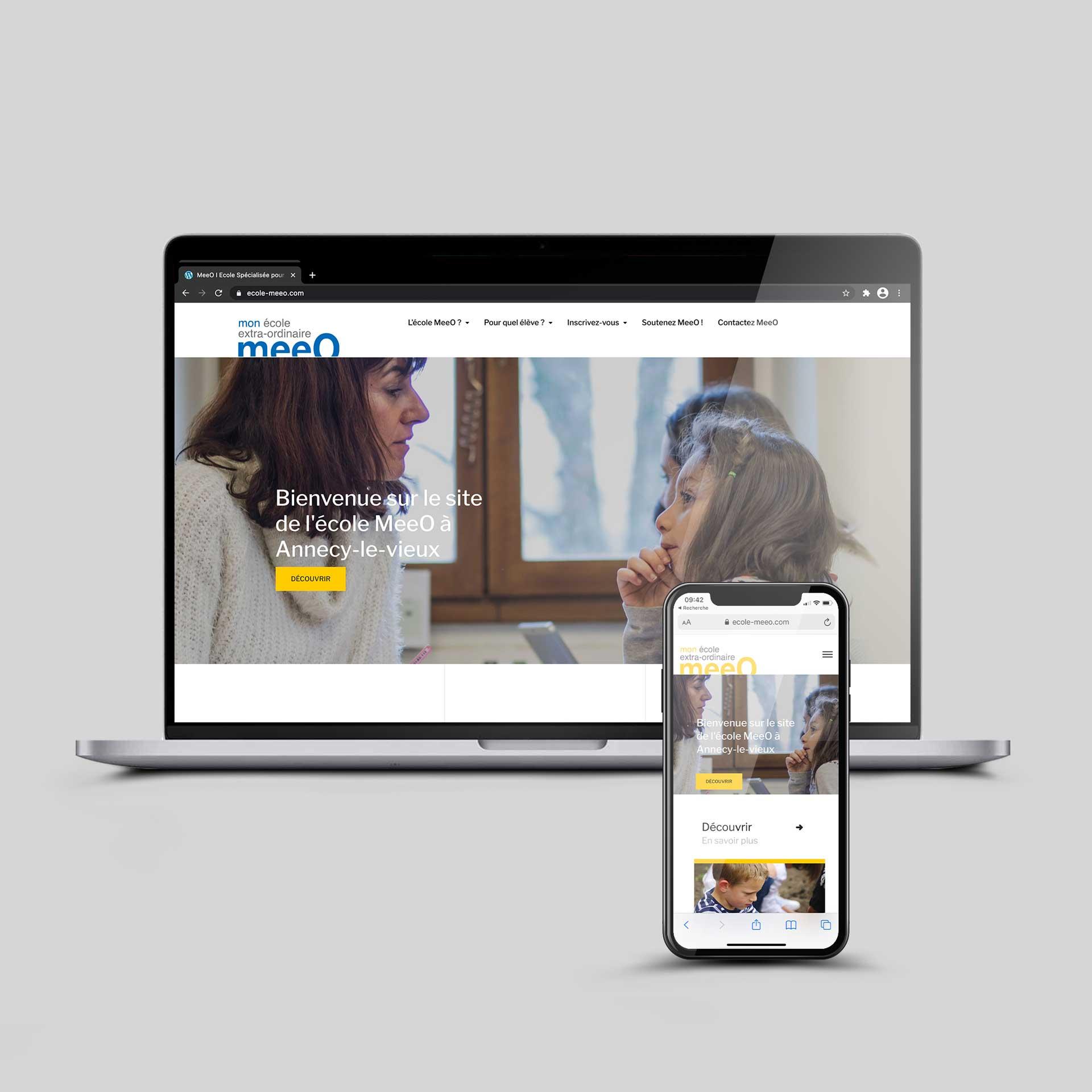 Site internet éducation école MeeO