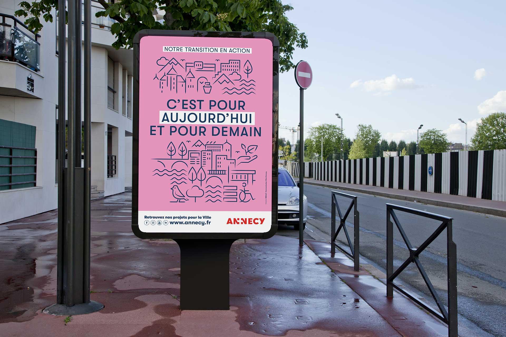 Campagne projet de ville d'Annecy