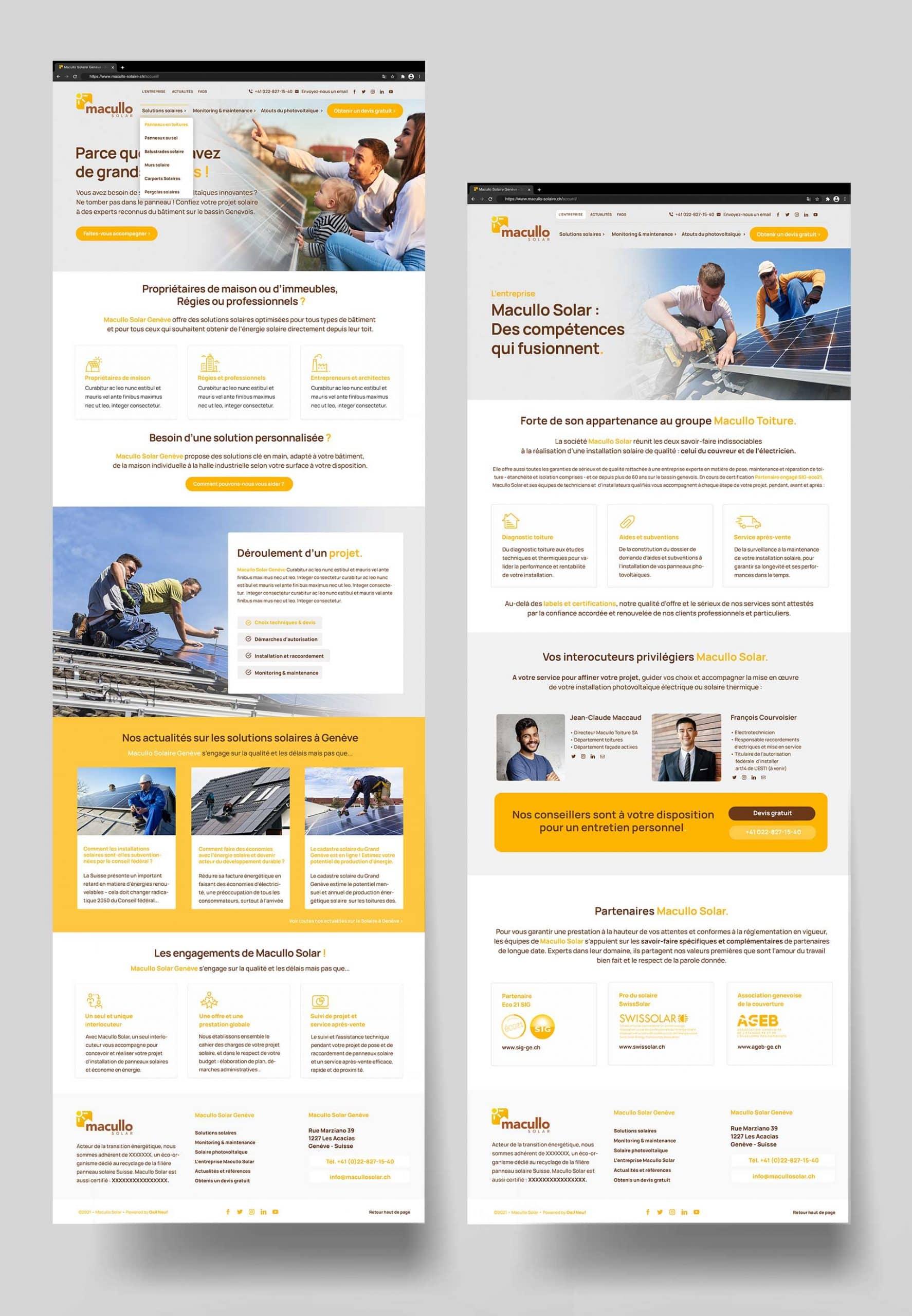 Création Site Wordpress Genève